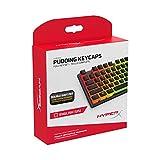 Teclas HyperX Pudding Keycaps - Conjunto completo de teclas - PBT - {Negro} - Diseño...