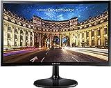 SAMSUNG C24F390 - Monitor Curvo de 24'' (Full HD, 4 ms, 60 Hz, FreeSync,...