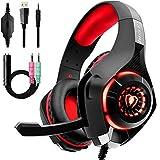 Auriculares Gaming Premium Stereo con Microfono para PS4 PC Xbox One, Cascos Gaming...