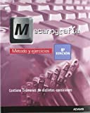 Mecanografía, método y ejercicios