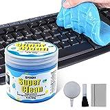 SYOSIN Limpiador Teclado Gel Universal de Limpieza de Polvo Limpiador de Bacterias de...