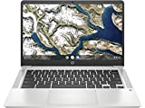 HP Chromebook 14a-na0004ns - Ordenador portátil HD de 14' (Intel Celeron N4020, 4GB...