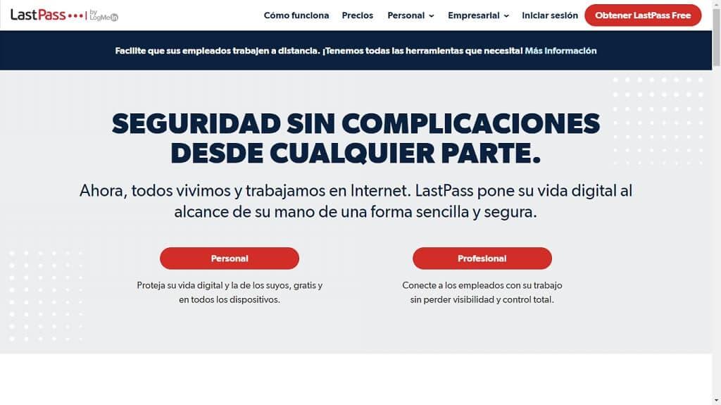 Aplicación LastPass