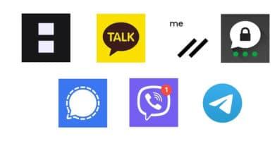 Apps de Mensajería Privada