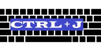 CTRL + J