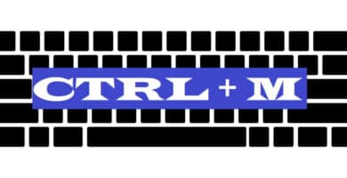 CTRL + M