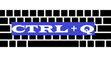 CTRL + Q