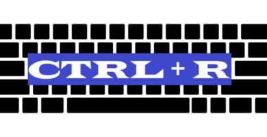 CTRL + R
