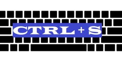 CTRL + S