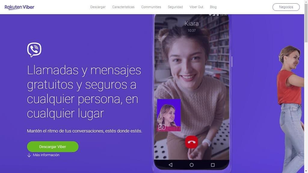 Chat Seguro con Viber
