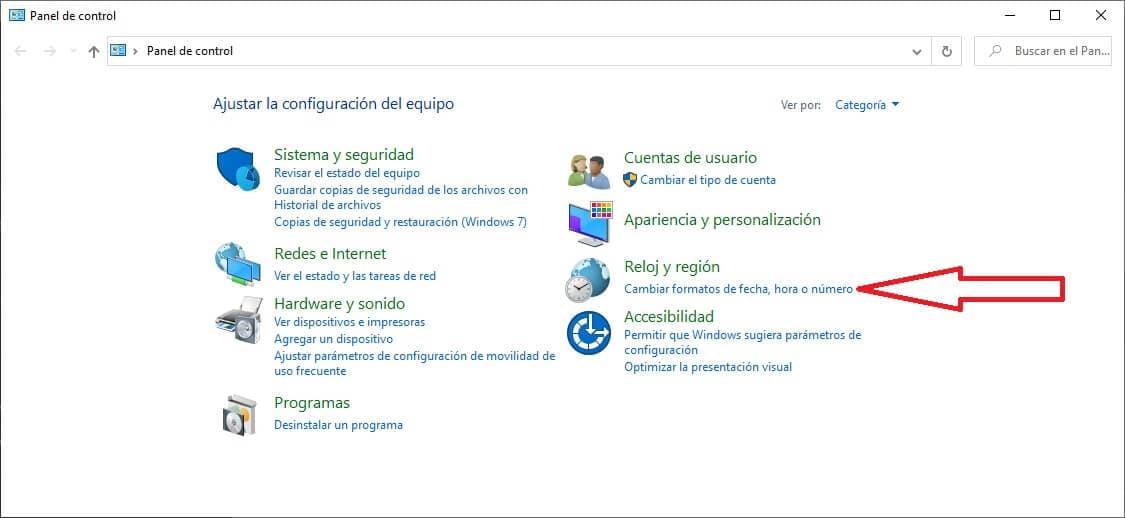 Configurar teclado en windows 10 paso 3