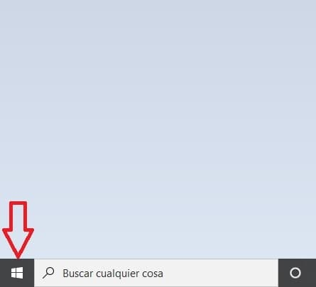 Configurar teclado windows 10 paso 1