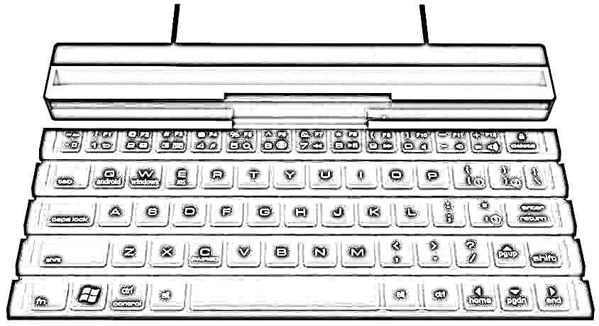 Dibujo Teclado Tablet
