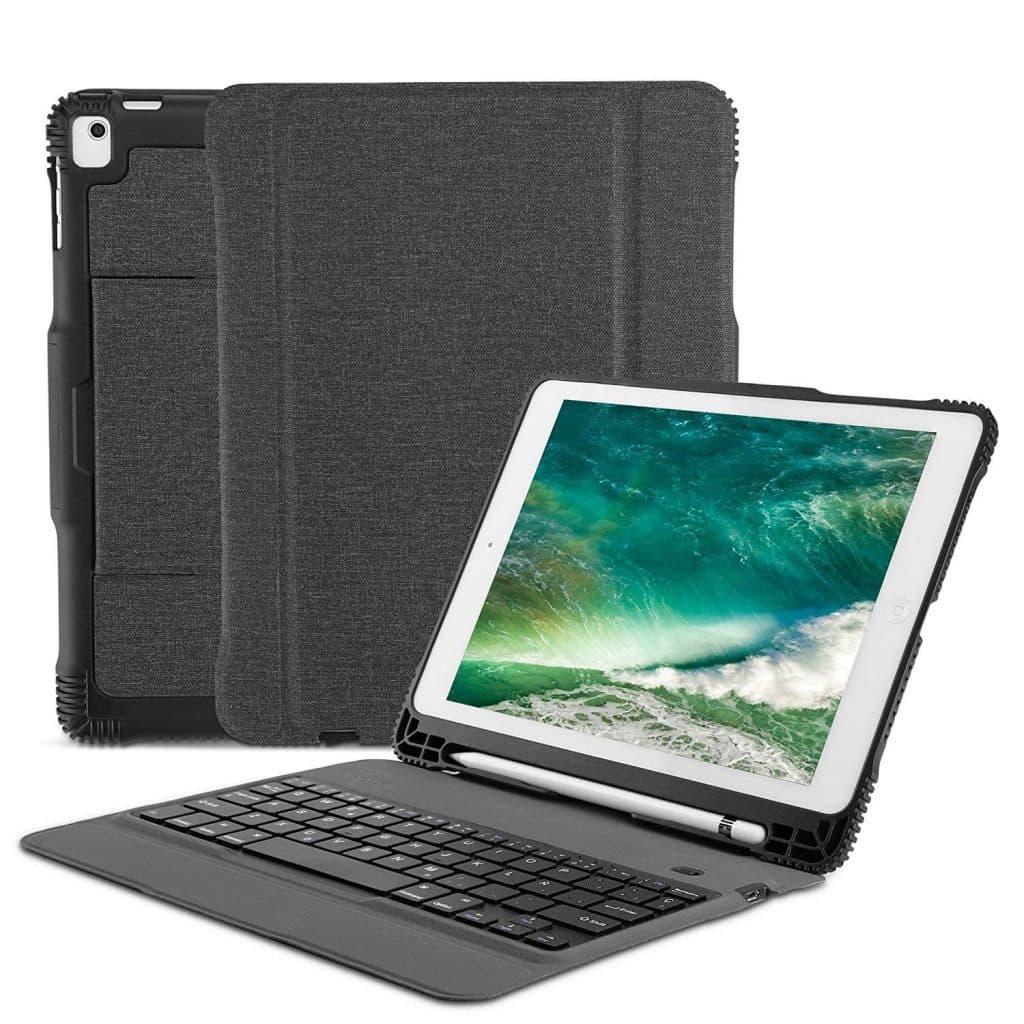Funda con teclado Bluetooth para tablet