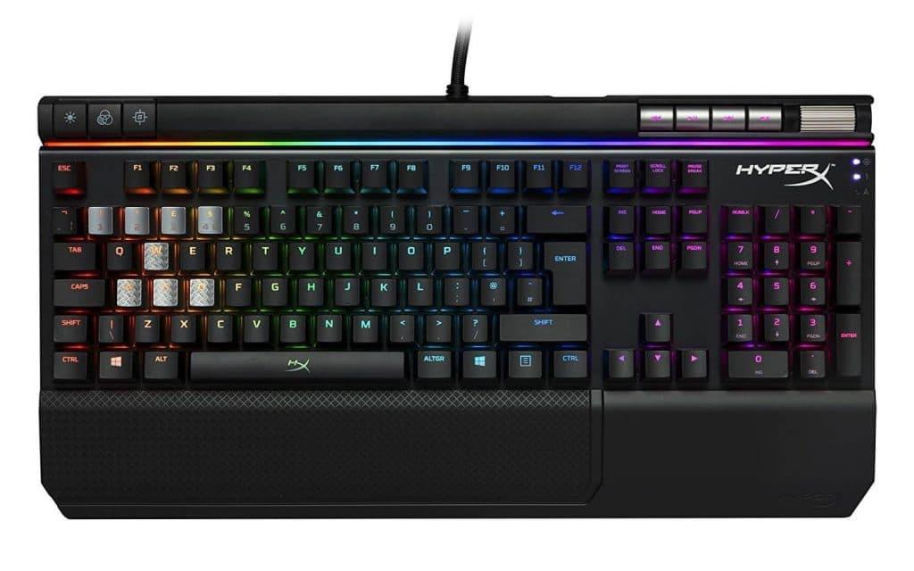 HyperX Alloy Elite RGB - Teclado para Juegos mecánico