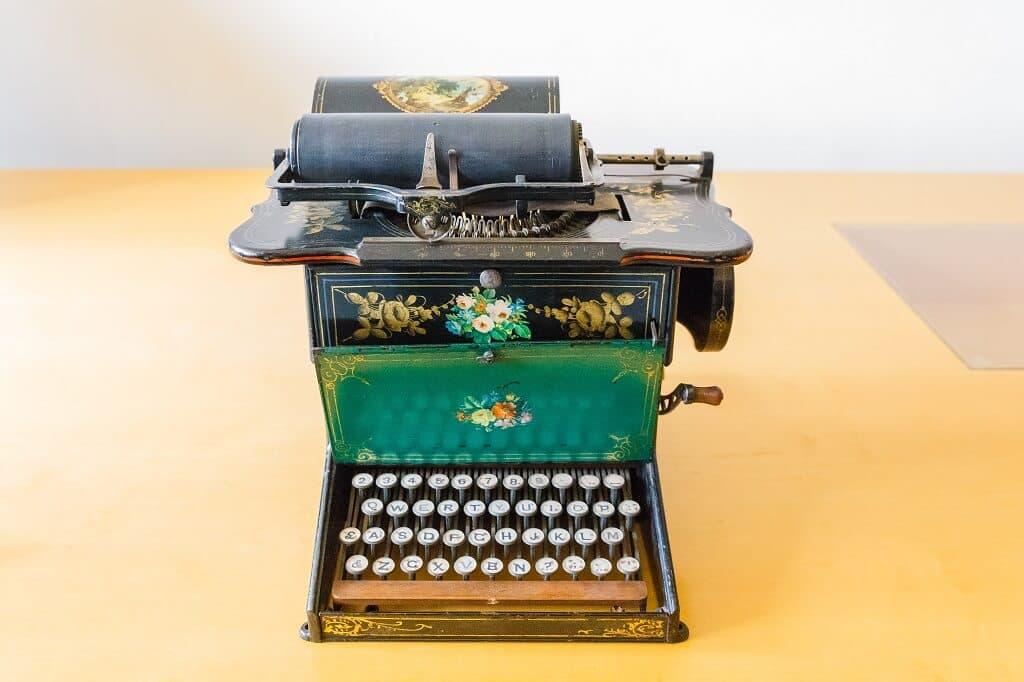 Máquina de Escribir Sholes & Glidden
