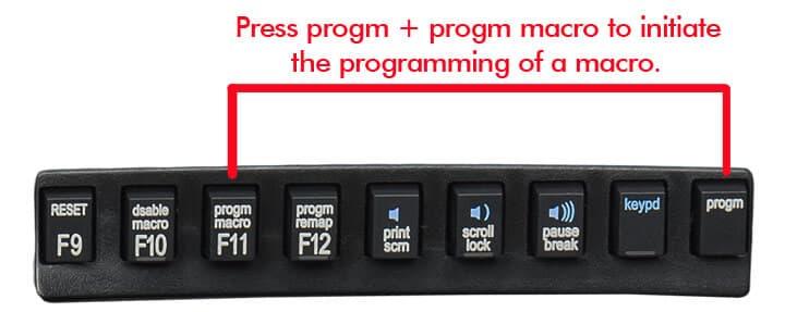 Programación de una macro