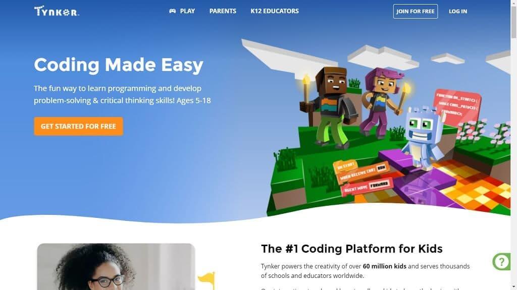 Programación Fácil para Niños con la Plataforma Tynker