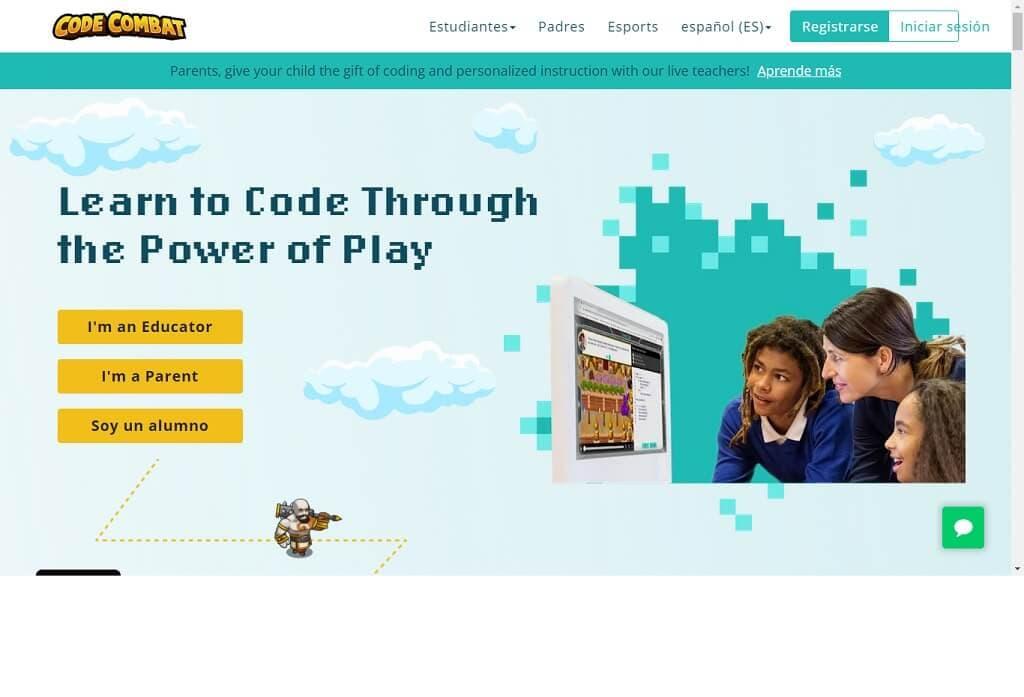 Programación Para Niños CodeCombat