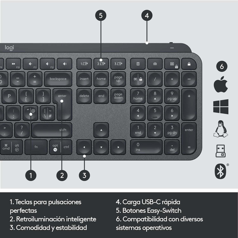 Reseña Logitech MX Keys