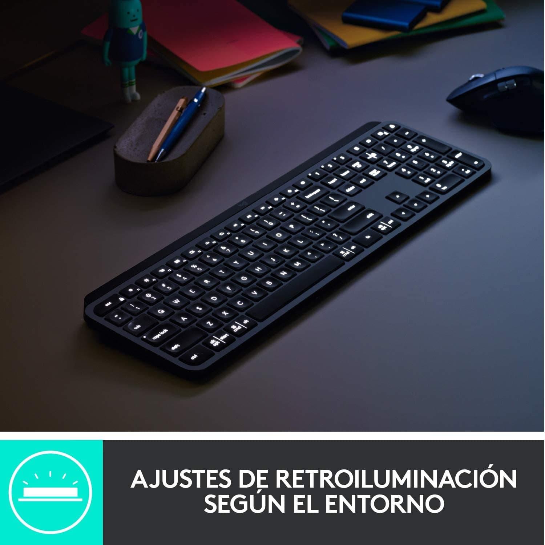 Retroiluminación Teclado Logitech MX Keys
