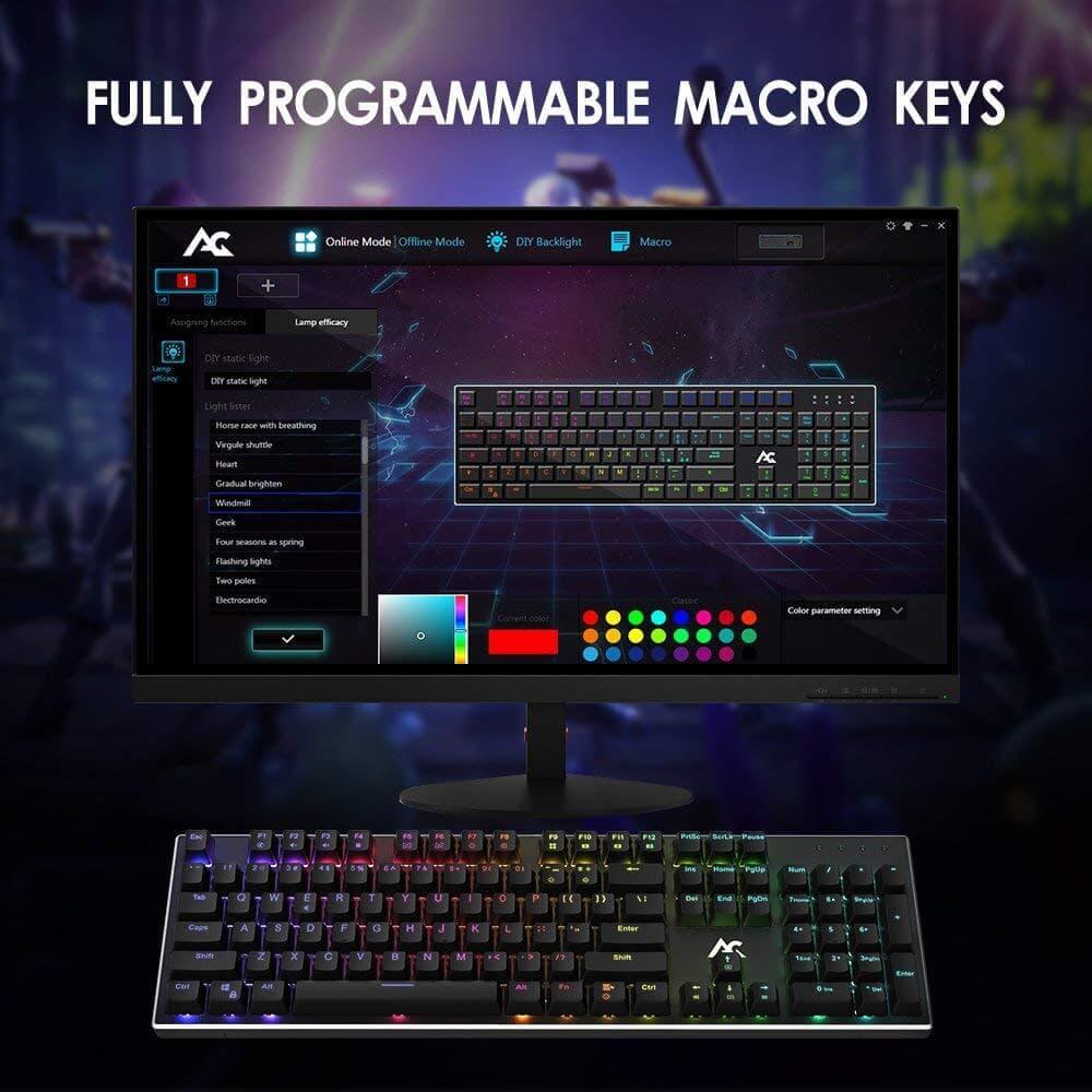 Software teclado gamer