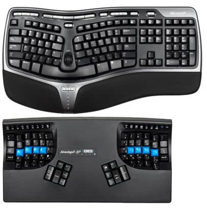 Tamaño del teclado
