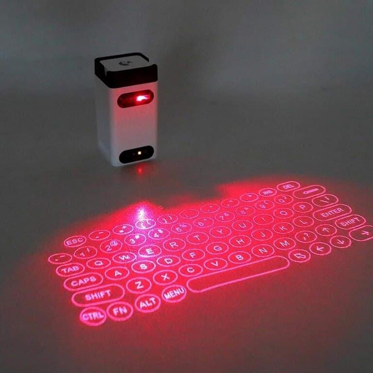 Teclados Holográficos