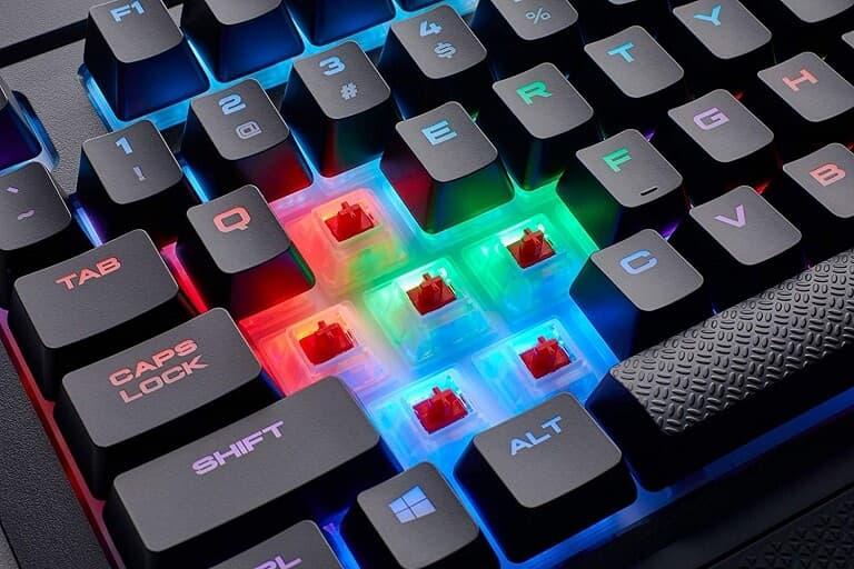 Teclas Teclado Corsair K68 RGB