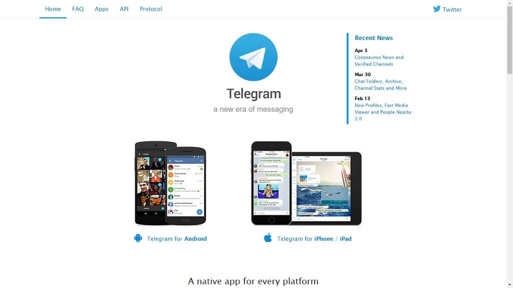Telegram - Mensajería Privada