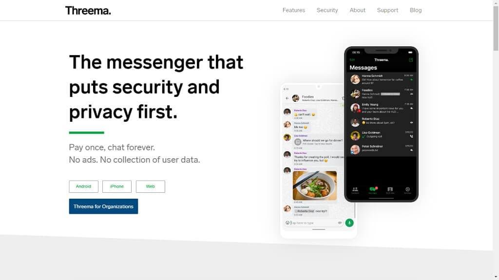 Threema - App Segura